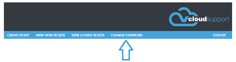 change password tab
