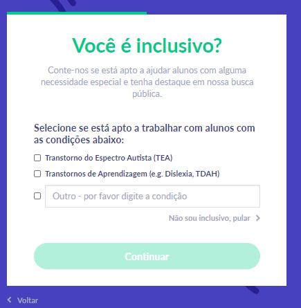 Fig. 10. Você é inclusivo?