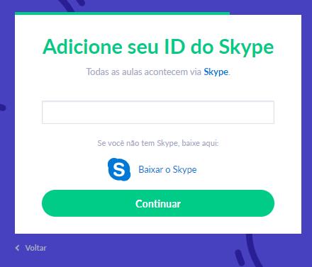Fig. 12. Adicione o nome skype