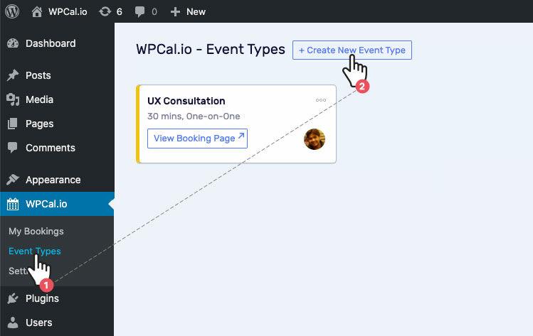 Create New Event Type