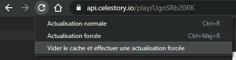 Chrome Vider cache et actualisation forcée